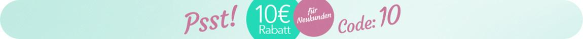 10 Euro Neukunden Rabatt