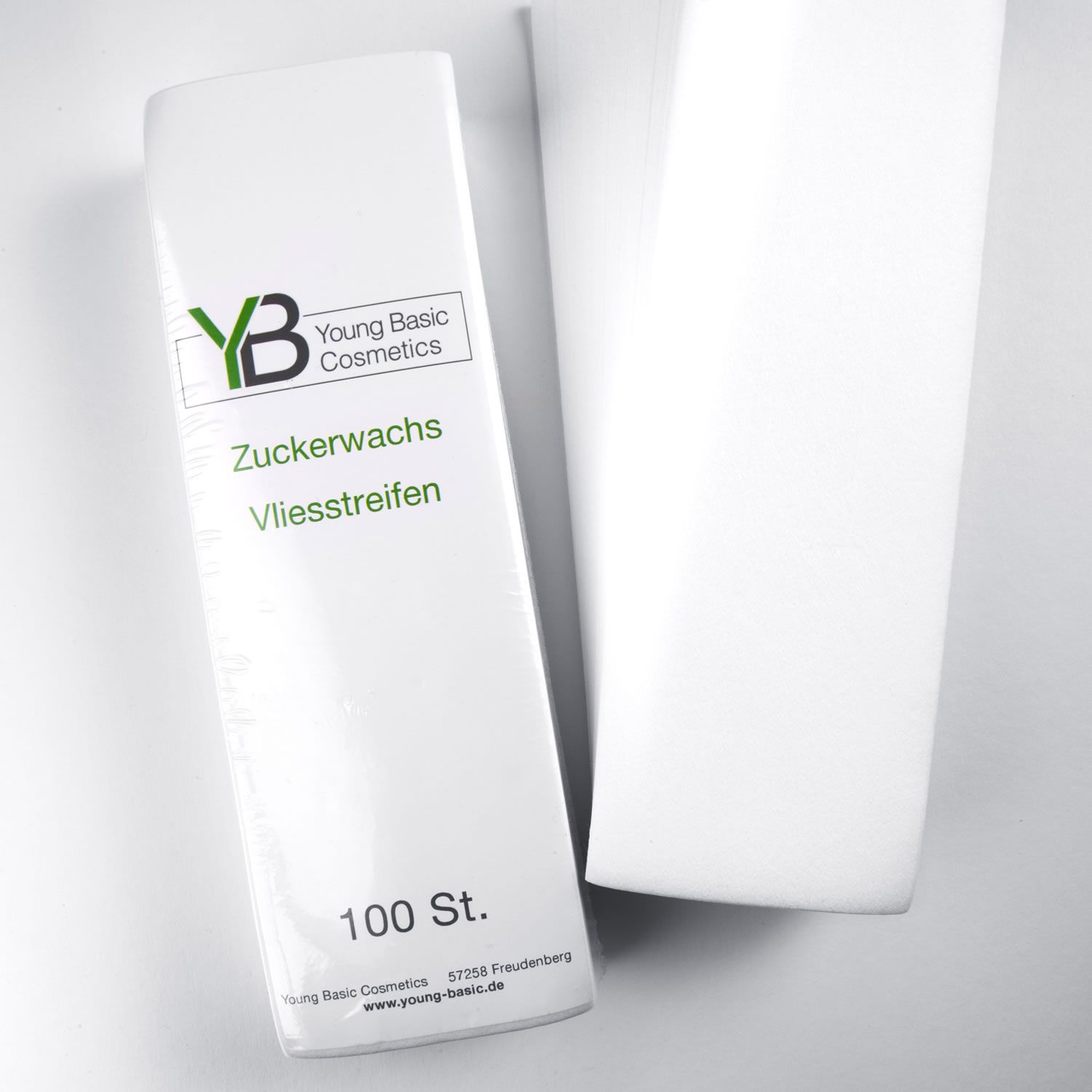 Wonderlift Young Basic Sugaring Vlies 100 Stück